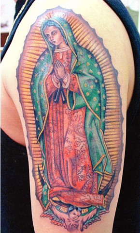 Virgen de Guadalupe tattoo