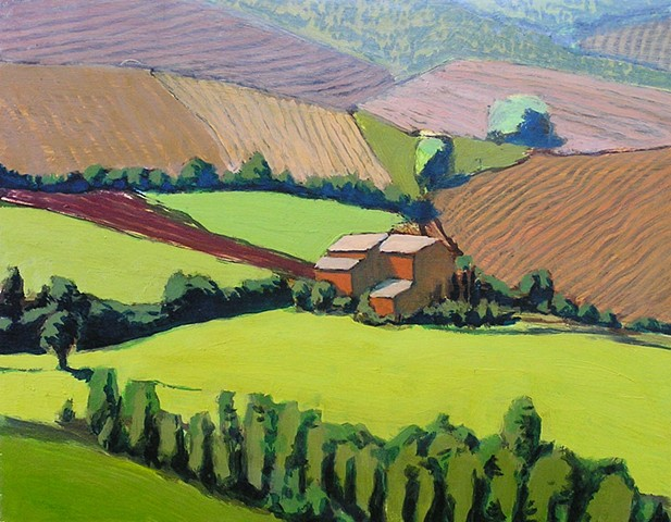 Summer Fields, Montelcino