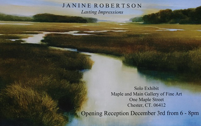 %Lasting Impressions%, Solo Exhibit at Maple and Main Gallery