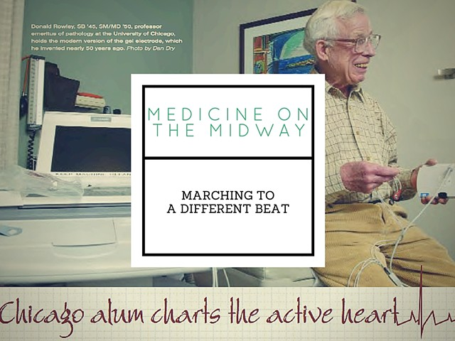 Marching to a Different Beat: Chicago alum charts the active heart
