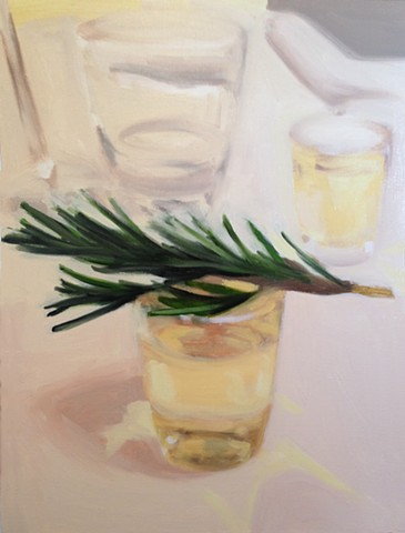 Rosemary and Grappa