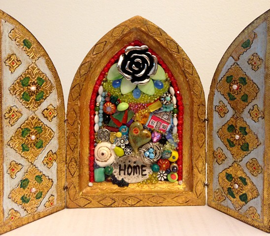 "Mini Shrine, ""Home""  Mosaic"
