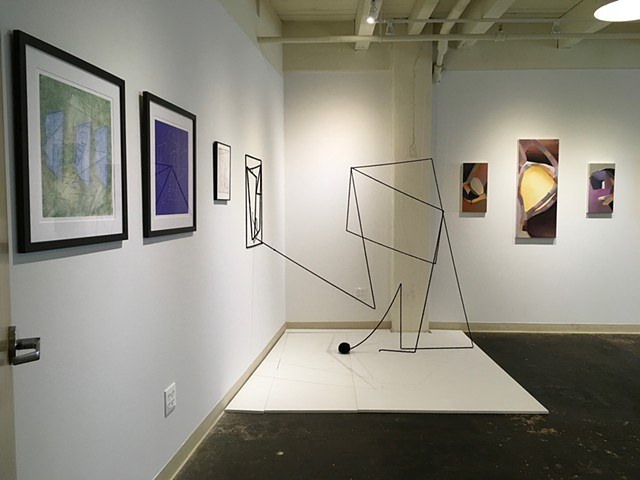 Installation View of Moving Forward