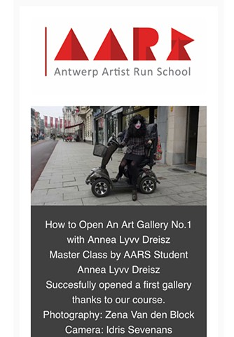 How to Open an Art Gallery No.1