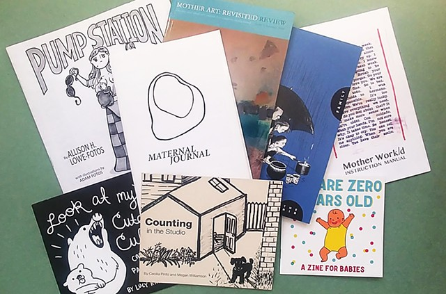 Building a book and zine collection!