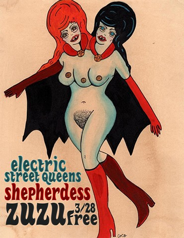 Electric Street Queens, Shepherdess Flyer