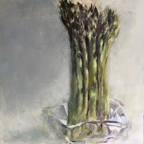 Asparagus in Glass