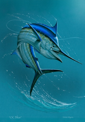 OC Blue (Marlin Magazine Gallery Issue Featured)
