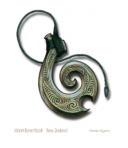 Mauri Bone Hook