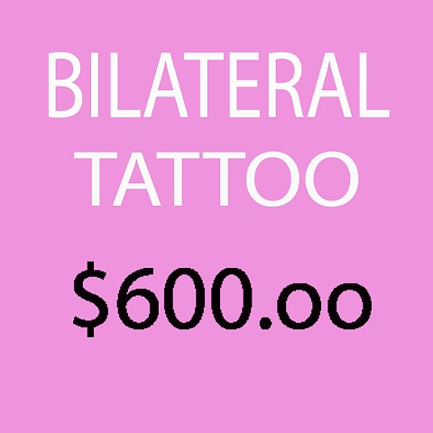 Bilateral tattoos