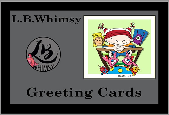 Whimsy Greeting Cards