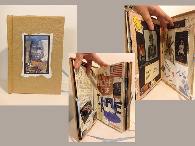 Altered Book: Artist Biographies