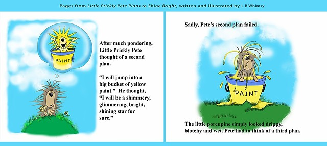 Little Prickly Pete Plans to Shine Bright