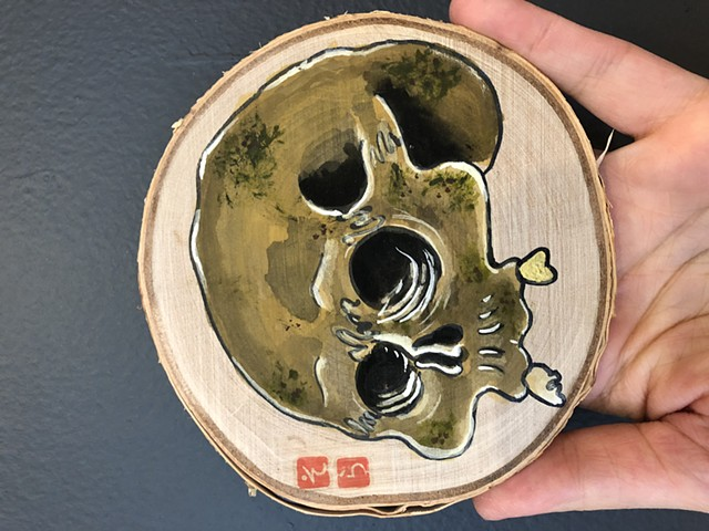 Small Skull - Shipping Included
