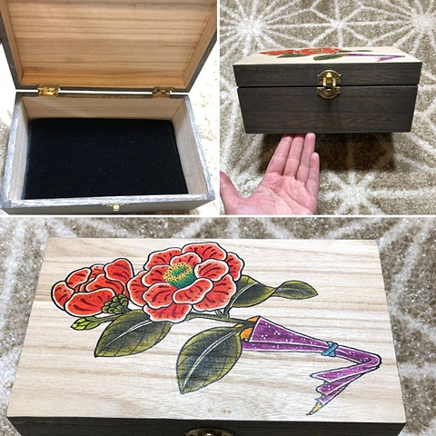 Storage box with Camilla's