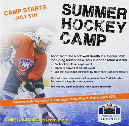 Hockey Camp Facebook Graphic