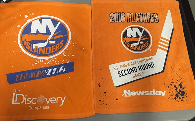 The New York Islanders Playoff Rally Towels