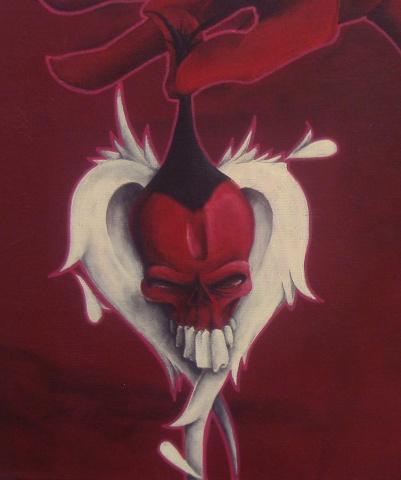 Releasing The Inner Demon - detail