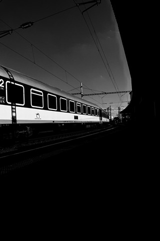 "///// 'Brno Train Station, Slovakia'  digital print  9"" x 13.5""  2016"