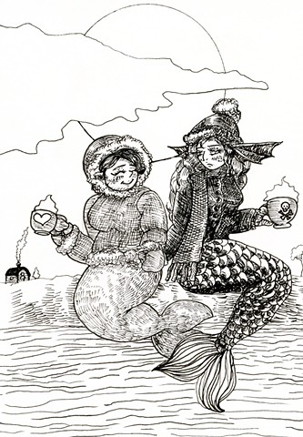 Mermaid and Selkie
