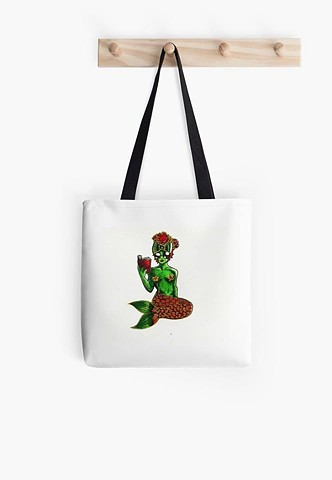 Poppy Mermaid Bookbag