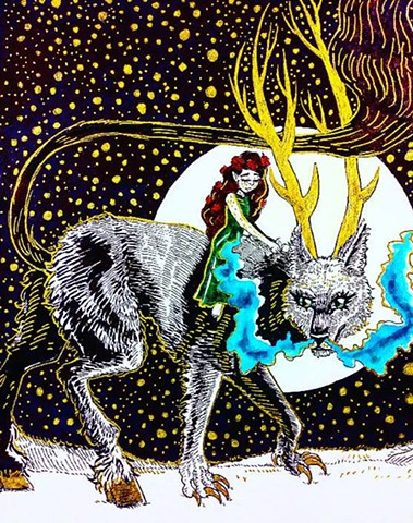 The Wolf King and Rosalupin