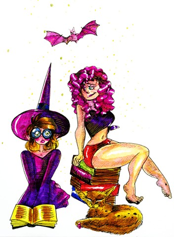 Witch Wives, in color