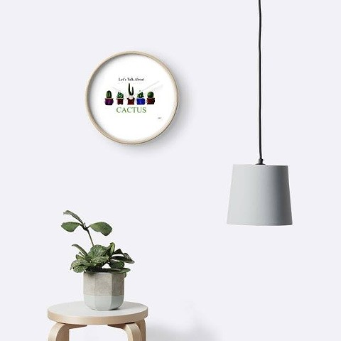 Let's Talk About Cactus Clock