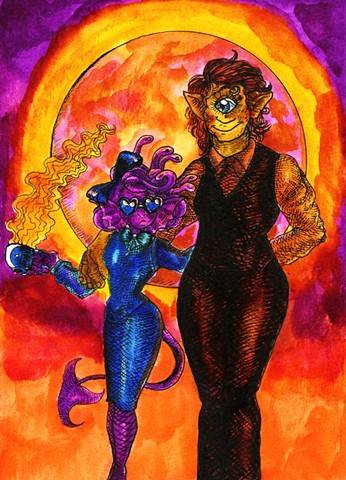 Gorgon and Cyclops