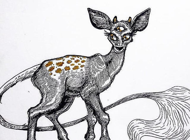 Three-Eyed Fawn