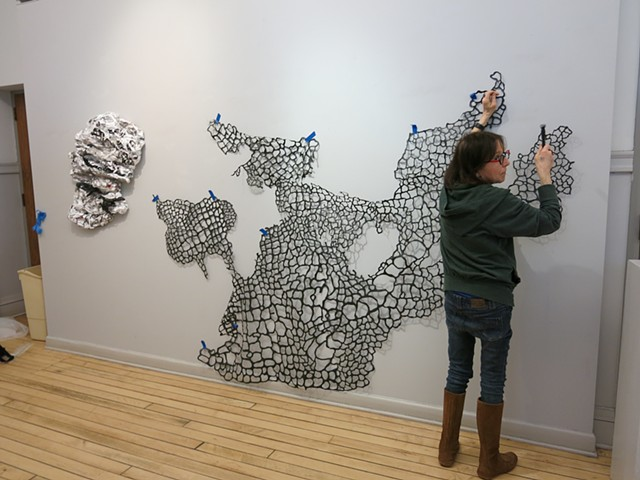 Installation of Taking Chances