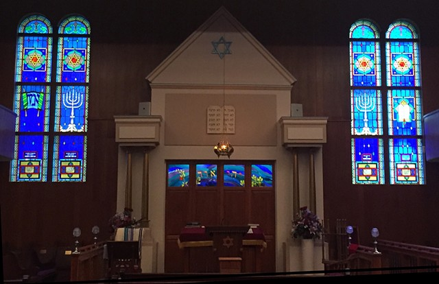 Beth Israel Ark Panels  Sanctuary