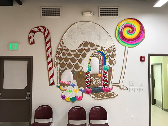 Winter Decore at Connexion, a reimagine faith community in east Somerville. 2019