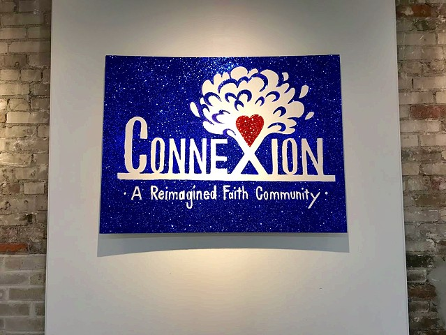 Designed a logo for Connexion, a reimagine faith community in east Somerville. 2019