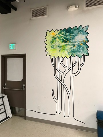 Summer decor at Connexion, a Reimagine Faith Community in East Somerville, 2019