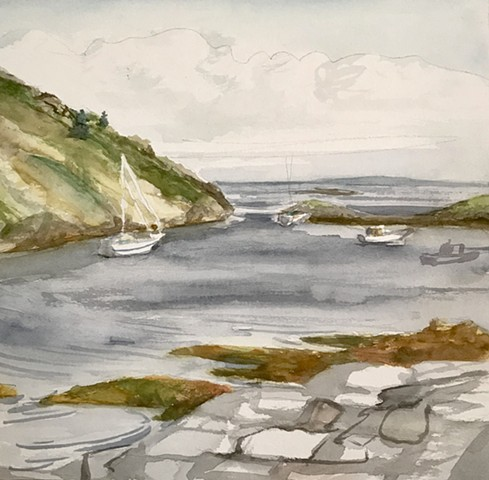 Monhegan Island Bay