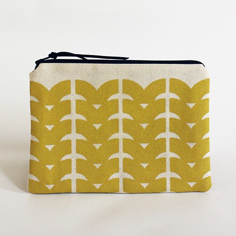 textile design by Tamara Bagnell - drift pouch