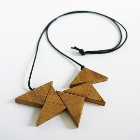 wooden jewelry by Tamara Bagnell
