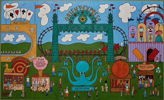 Rick Harris outsider folk art