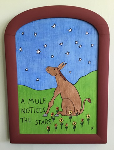 A Mule Notices the Stars