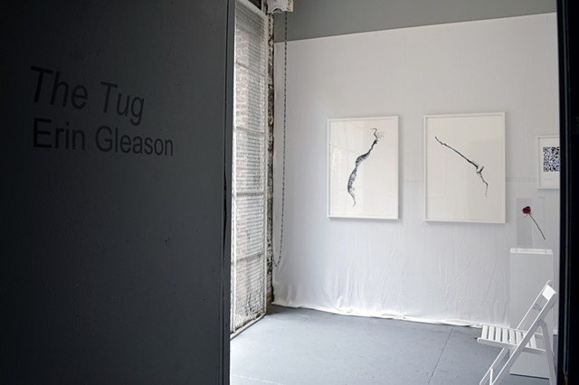 Orkney Series: Monday and Sunday, installation view, FiveMyles Gallery
