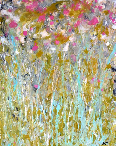 wild flower painting, wyoming wildflower, kelsey mcdonnell, fouryearsofflowers, four years of flowers