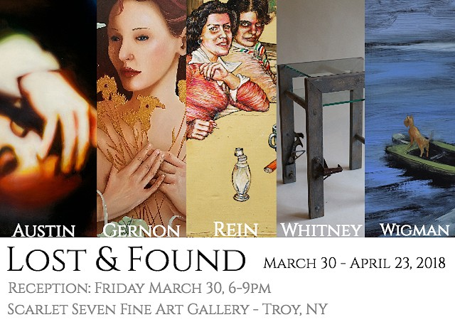 Lost and Found - March 30 - April 23, 2018