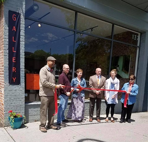 Scarlet Seven Gallery Ribbon Cutting Troy, NY 2017
