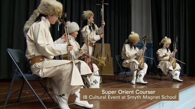 Super Orient Courser at Smyth Magnet School