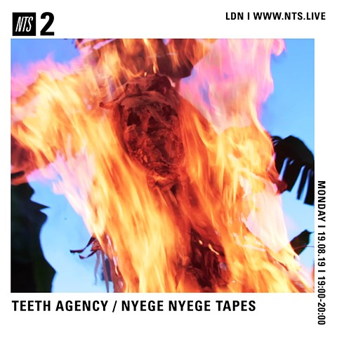 Teeth Agency returns to NTS for an hour long show of fresh new original music and interviews UK 7PM U.S central 1PM