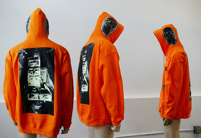 Teeth Agency EMT Orange HooDz