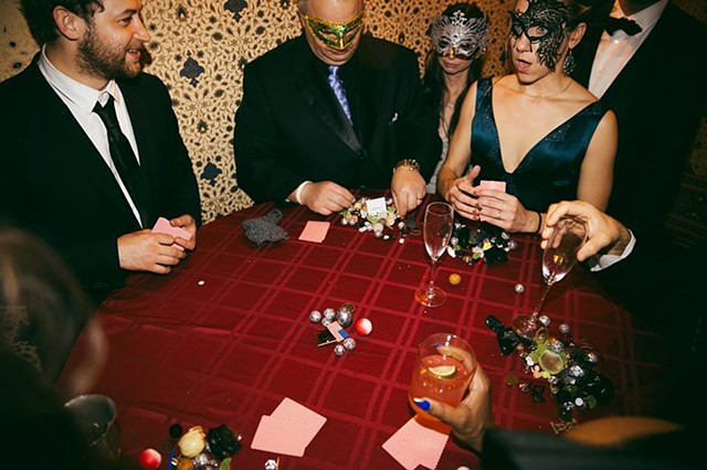 Pocket Poker Saloon by Max Kagan | Curated by Jonah Levy for Cynthia Von Buhler | Photo by Brittany NOFOMO