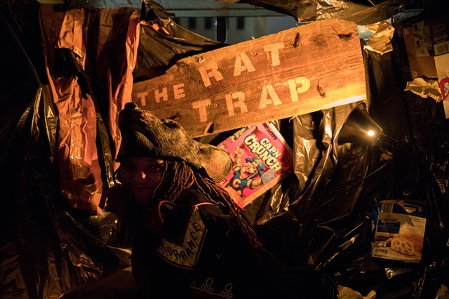 Rat Trap by Dirby and Ereka Imani Duncan | Photo by Walter Wlodarczyk