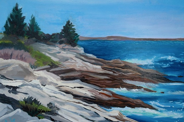 Pemaquid Rocky View